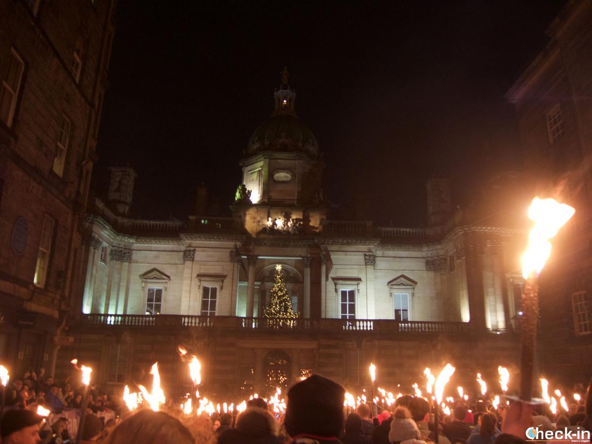 Capodanno a Edimburgo (Hogmanay): la Torchlight Procession