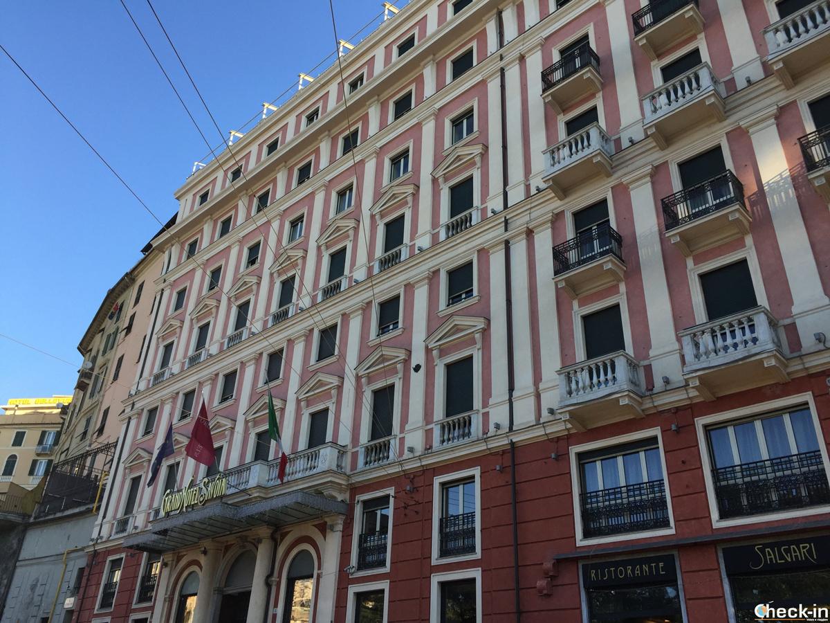 Il Grand Hotel Savoia di Genova
