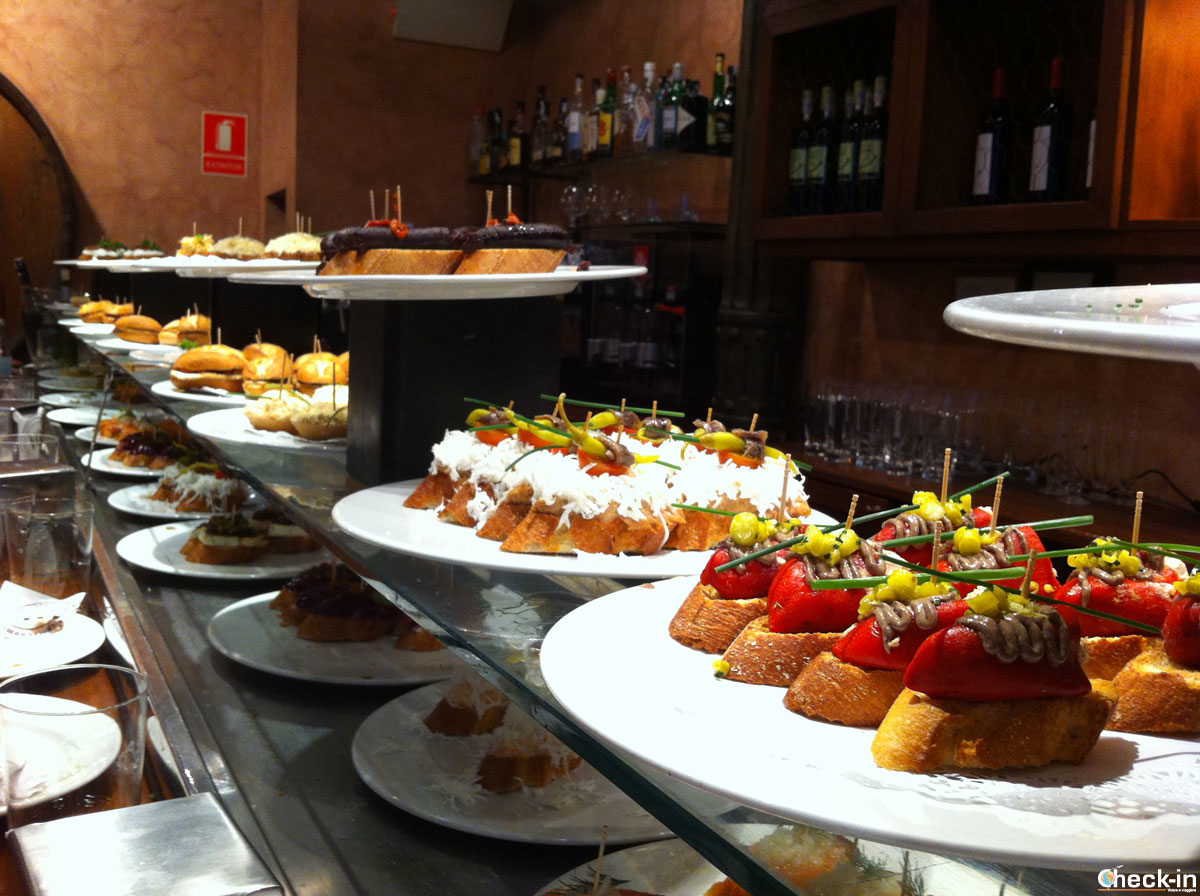 Tapas da mangiare a Valencia