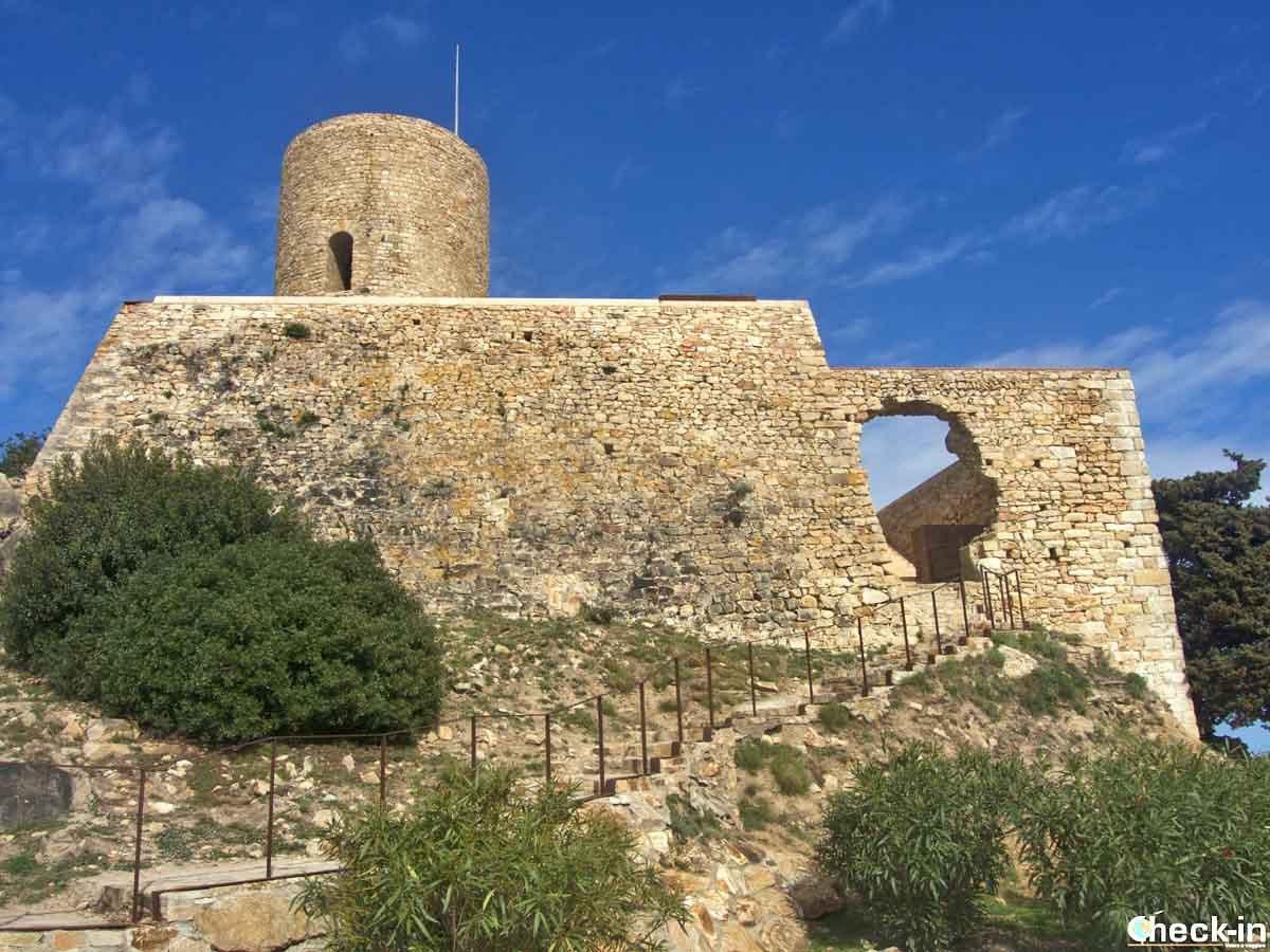 Il Castell de Sant Joan a Blanes, Costa Brava