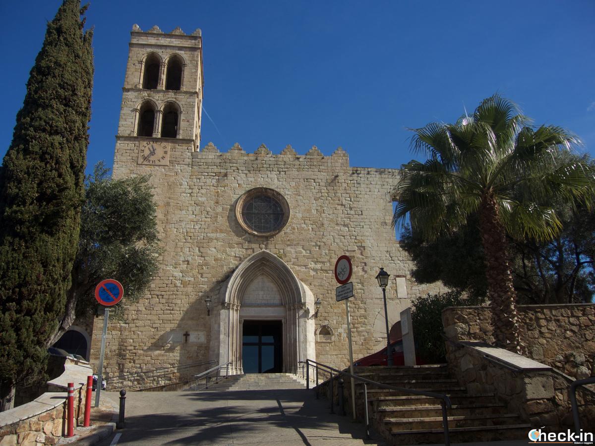 Chiesa di S. Maria e Palazzo dei Visconti di Cabrera a Blanes, Costa Brava