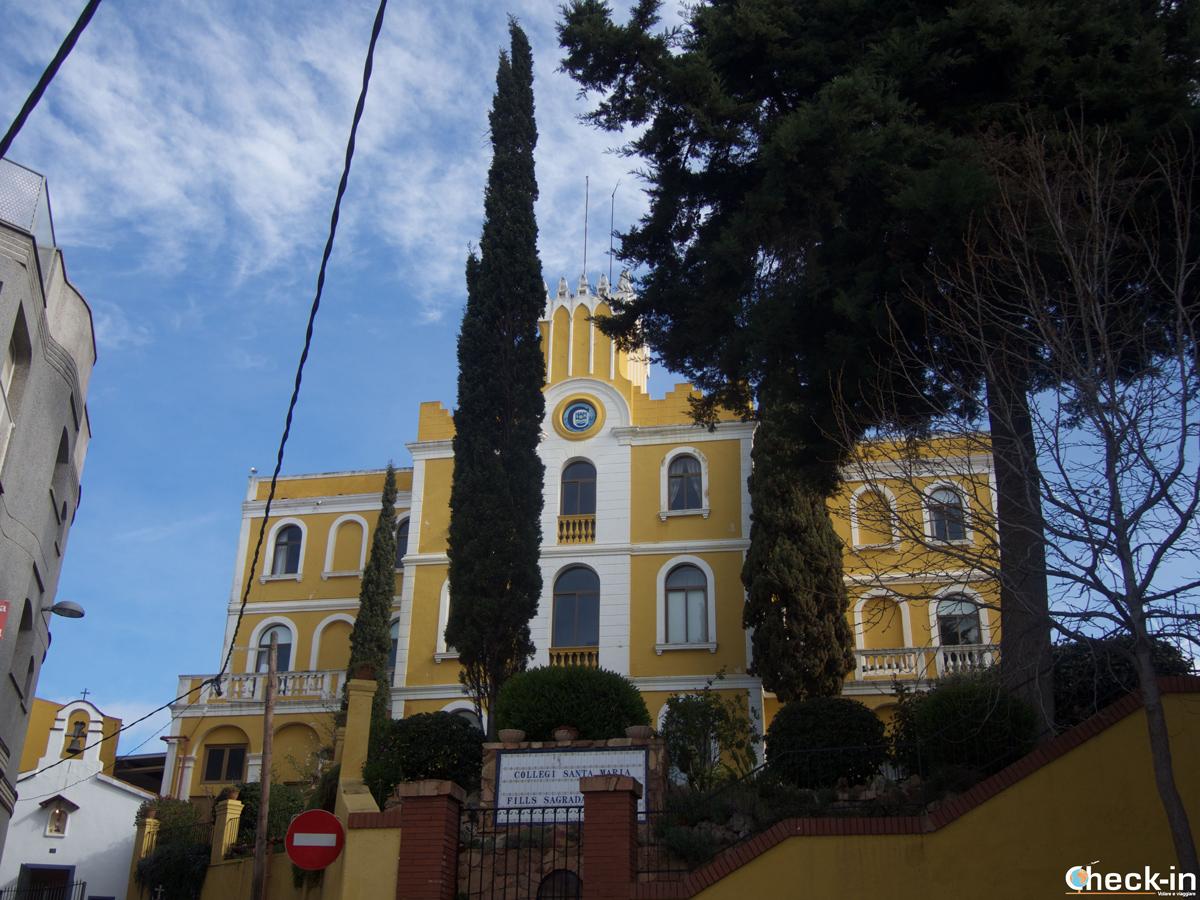 Il Collegio S. Maria di Blanes, Spagna