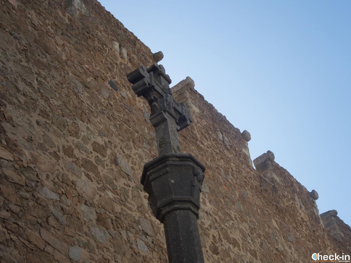 La Cruz de término di Tossa de Mar, Costa Brava