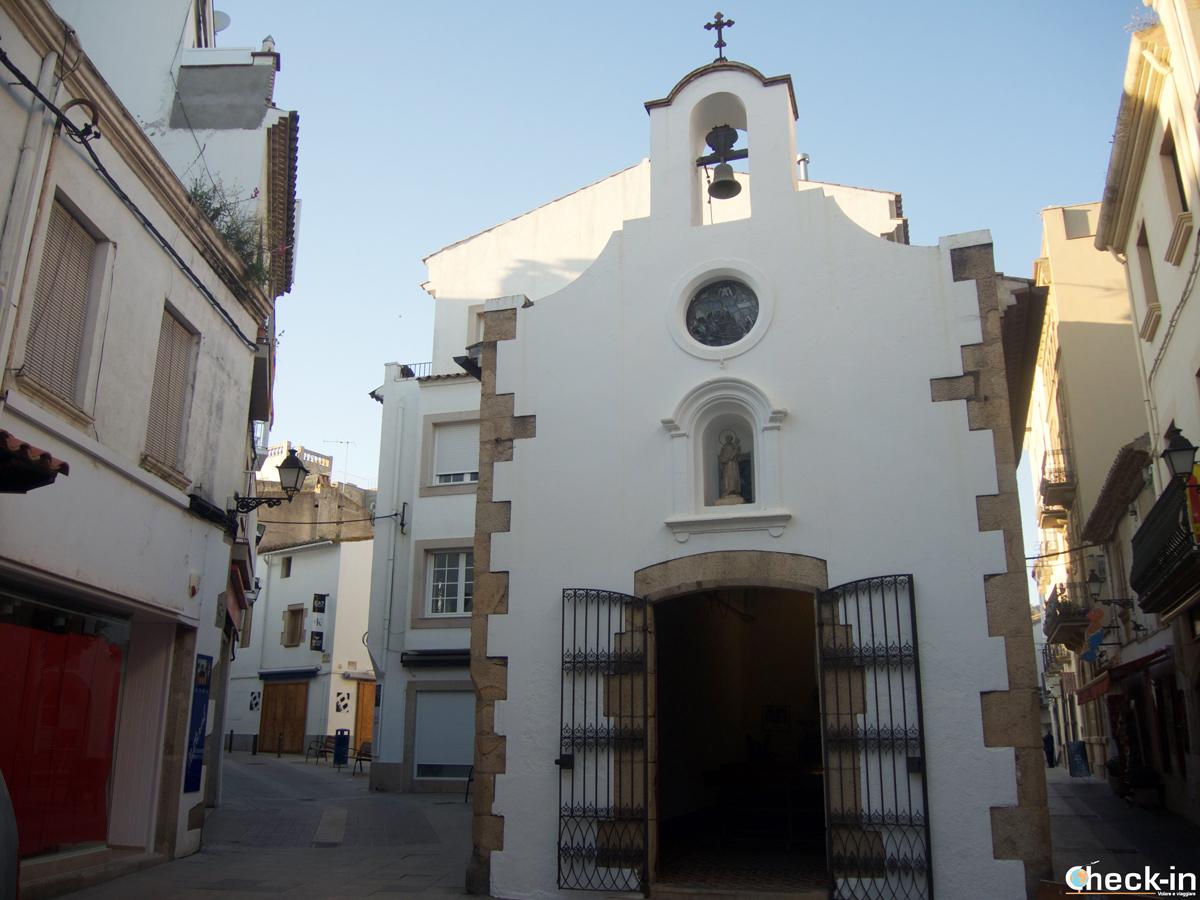 La Capilla de la Virgen del Socorro a Tossa de Mar, Spagna