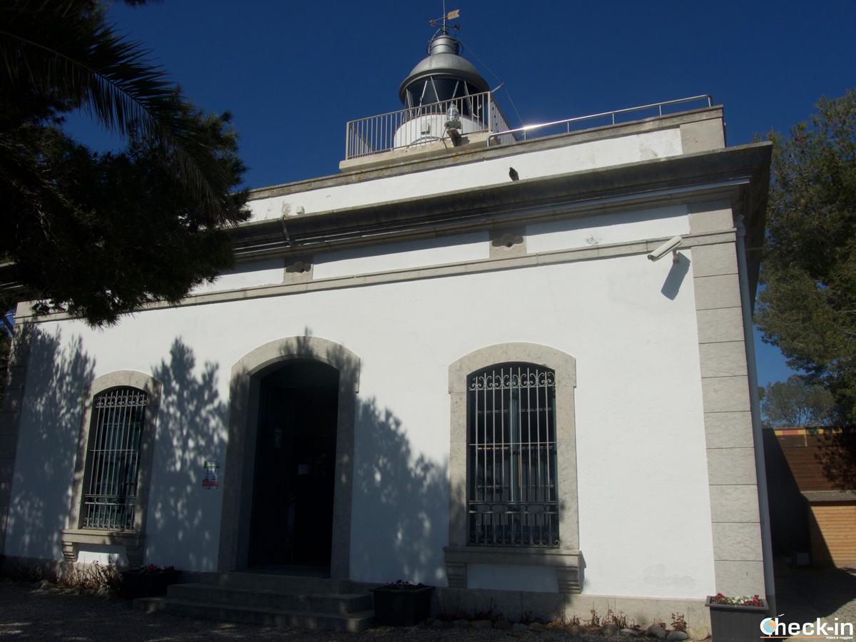 Il Faro, dove una volta sorgeva il Castello di Tossa de Mar, Spagna
