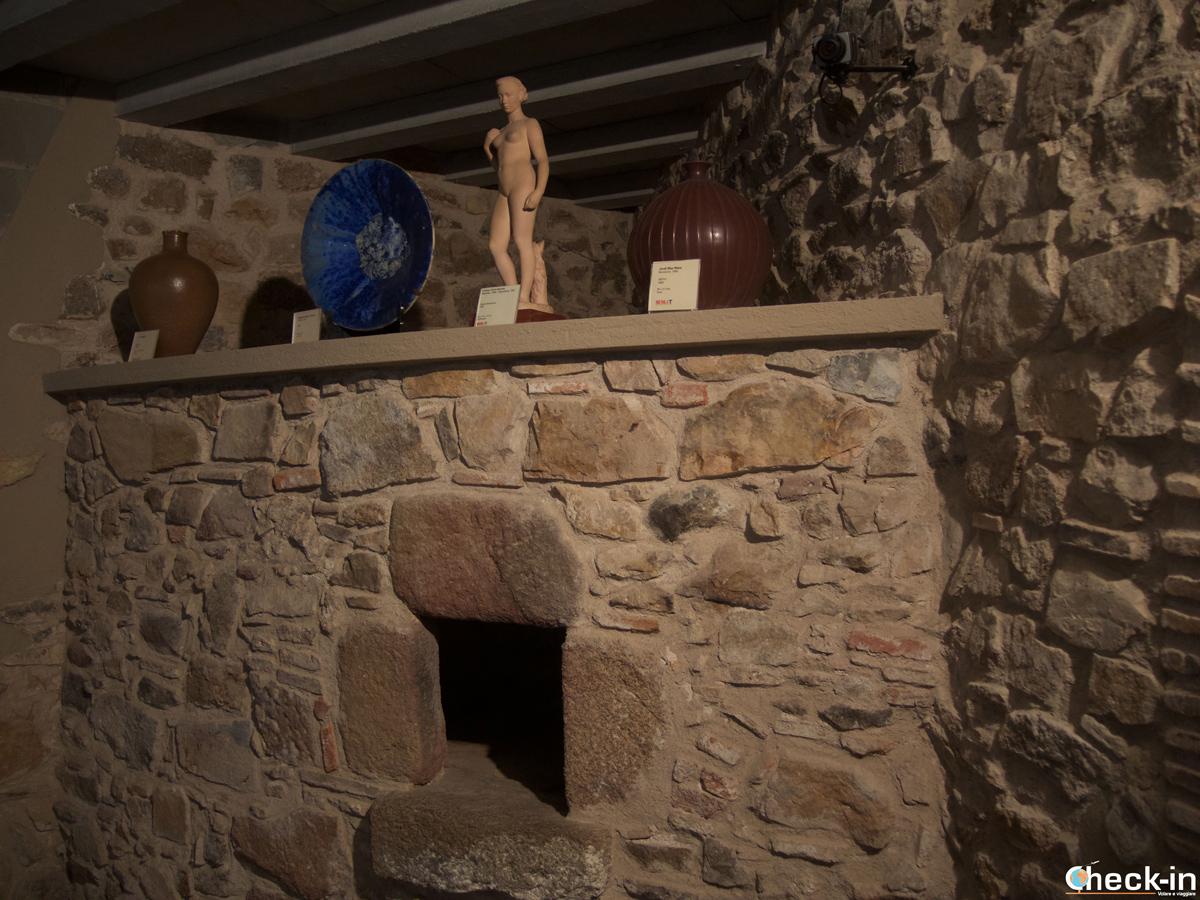 Visita del Museo Municipal di Tossa de Mar, Spagna
