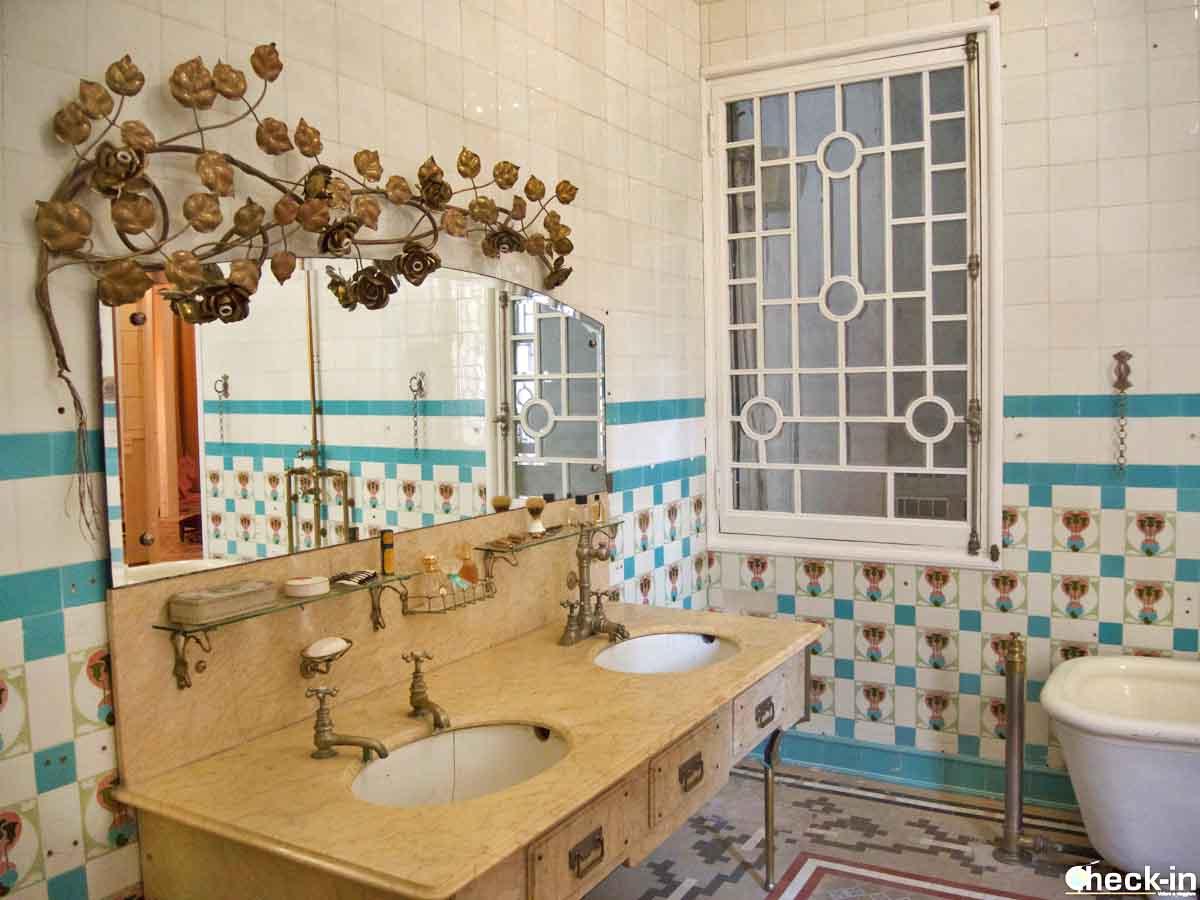 Il bagno modernista di Can Font a Lloret de Mar
