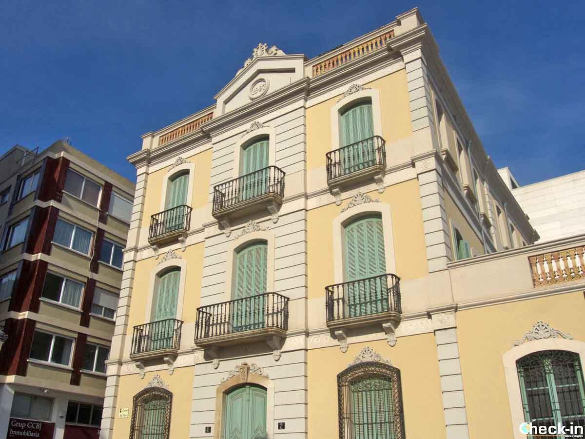 Il Museo del Mar-Casa Garriga di Lloret de Mar, Spagna
