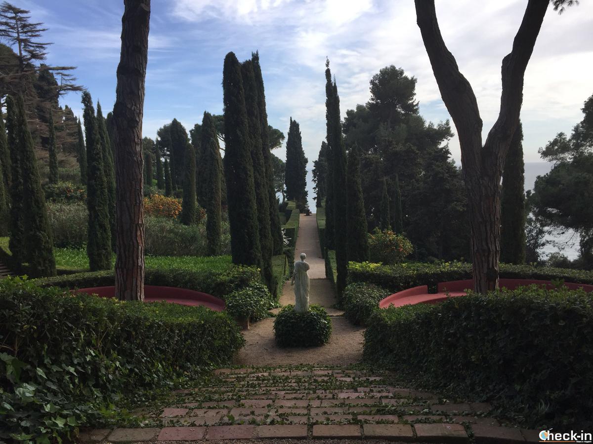 Jardines de Santa Clotilde a Lloret de Mar, Spagna