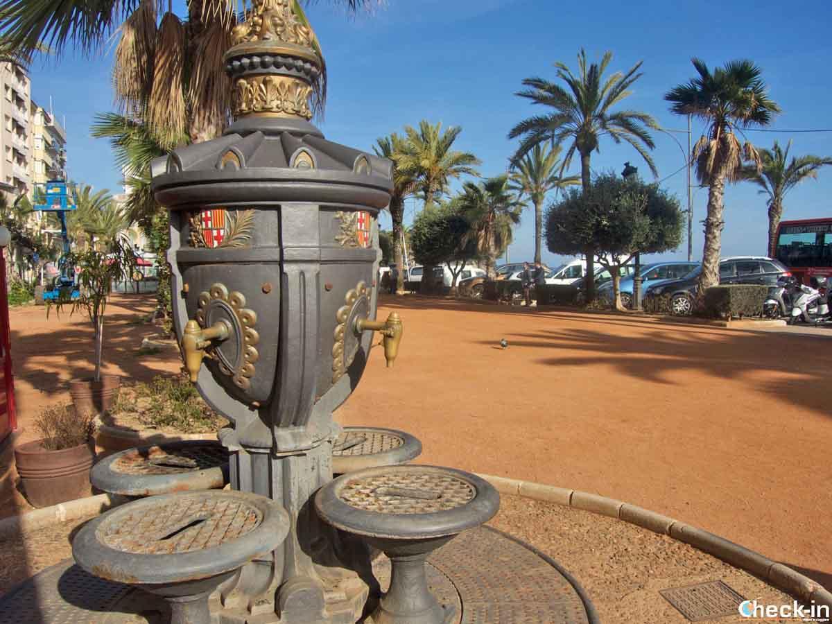 Fuente de Canaletes a Lloret de Mar, Spagna