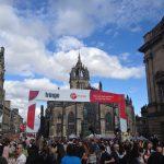 """Edimburgo ad agosto, i suoi Festival e la Military Tattoo. Come """"sopravvivere"""" in città."""