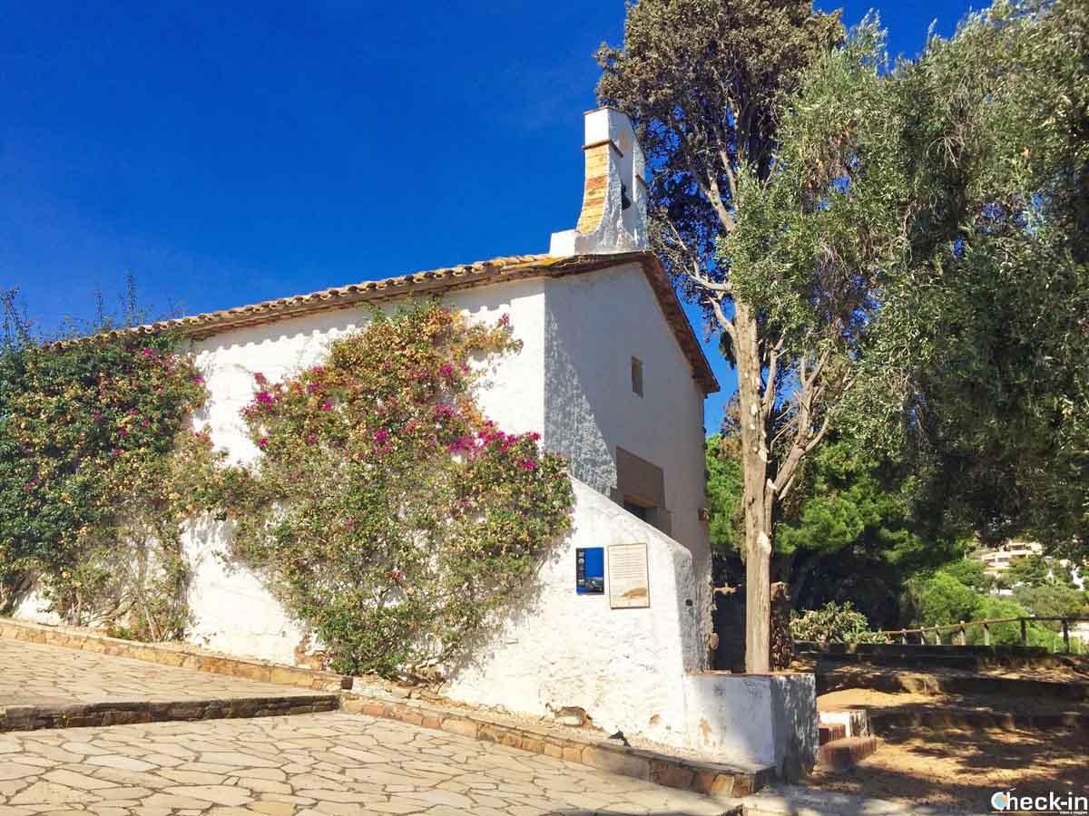 L'Ermita Sant Francesc nei dintorni di Blanes, Costa Brava