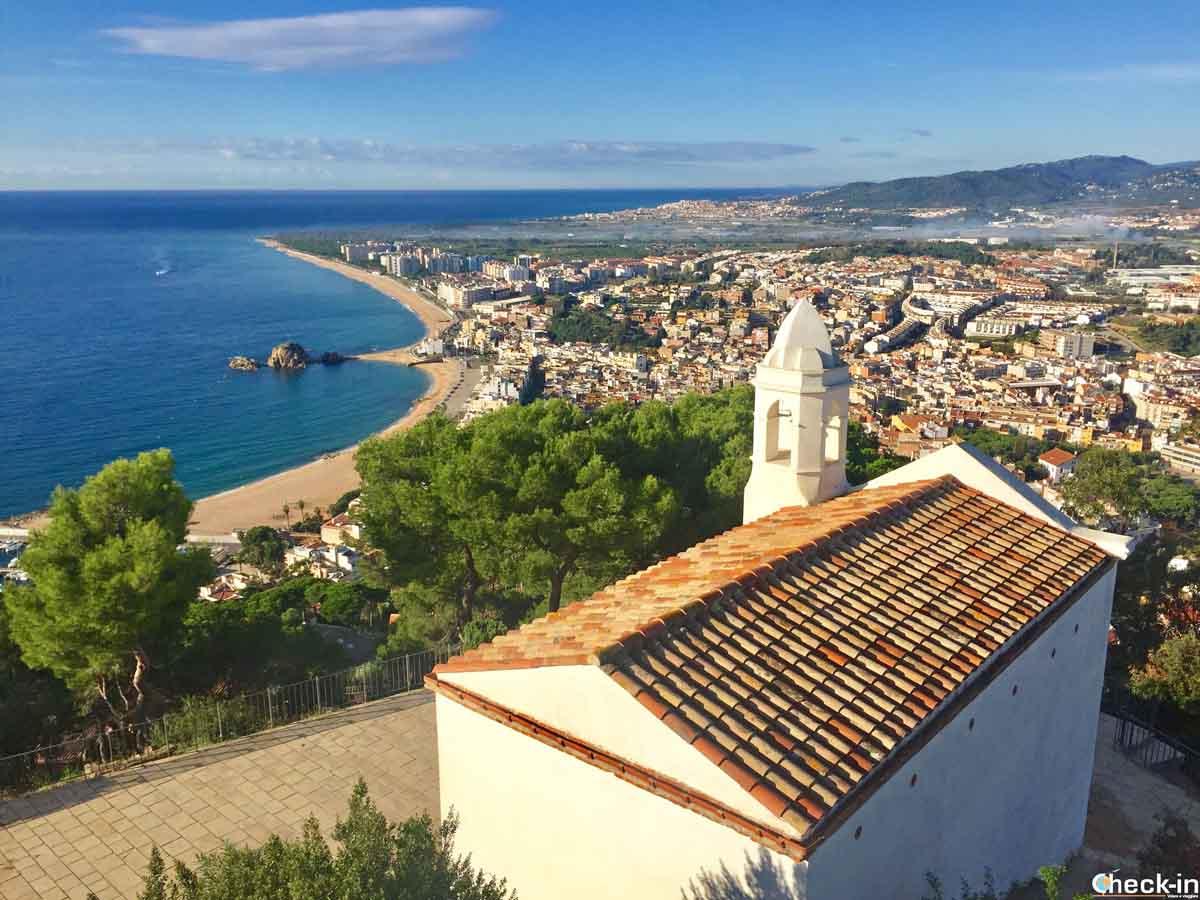 L'Ermita de Sant Joan sulle alture attorno a Blanes, Costa Brava