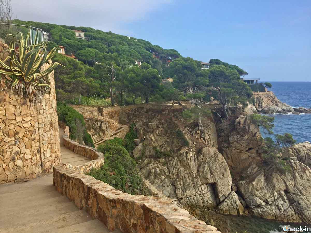 Camino de ronda Lloret-Tossa de Mar (Catalogna)