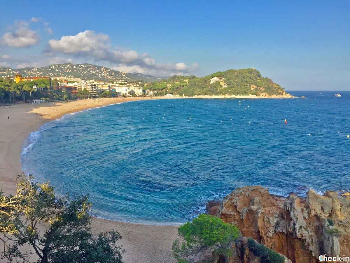 Migliori spiagge della Costa Brava - Fenals, Lloret de Mar