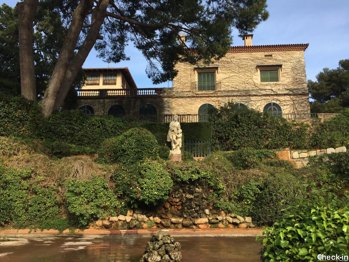 La villa nel cuore dei giardini di Santa Clotilde a Lloret de Mar