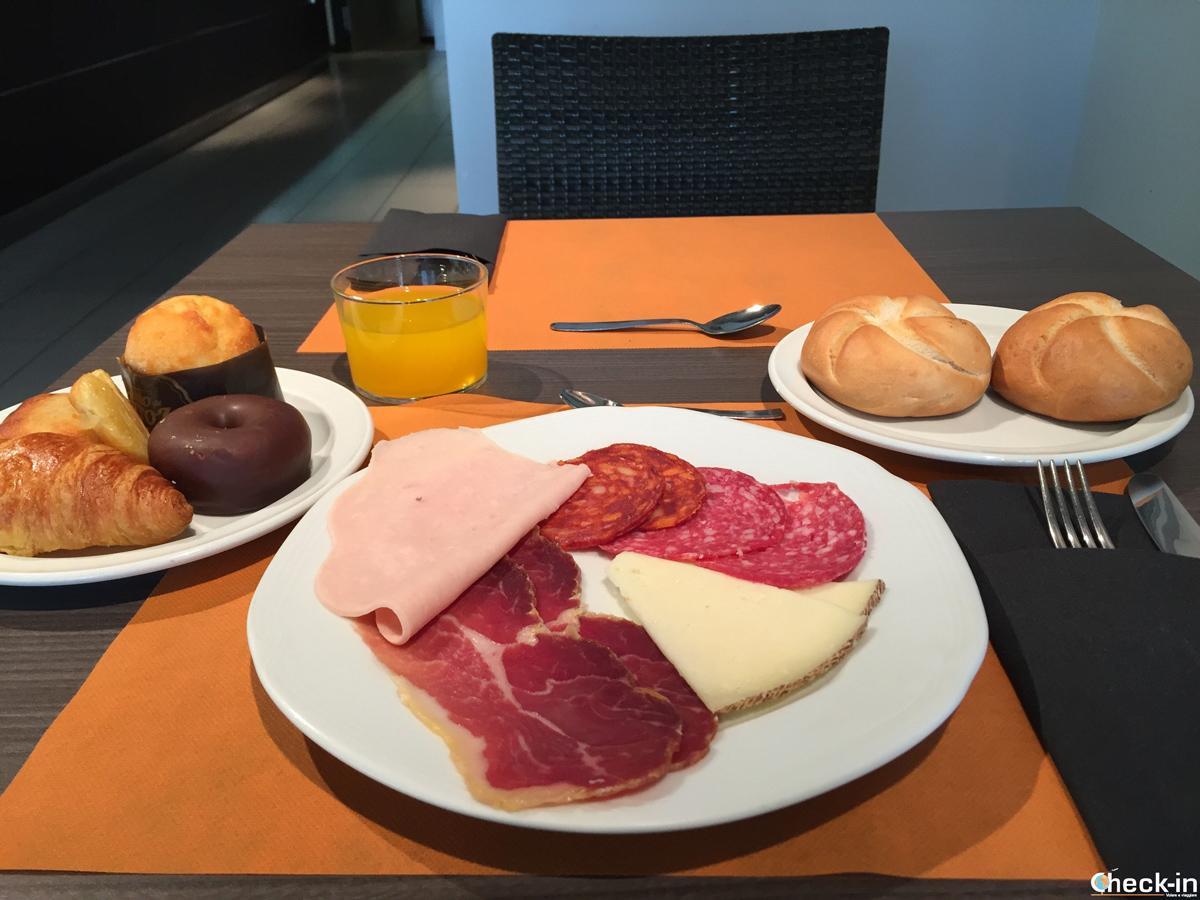 Colazione da campioni all'Hotel Excelsior di Lloret de Mar, Spagna