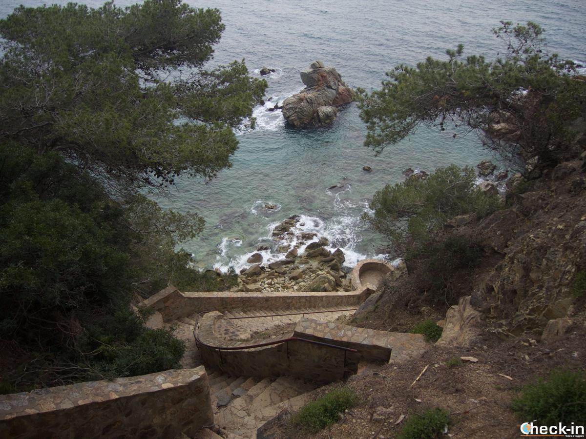 Cala dels Frares en Lloret de Mar