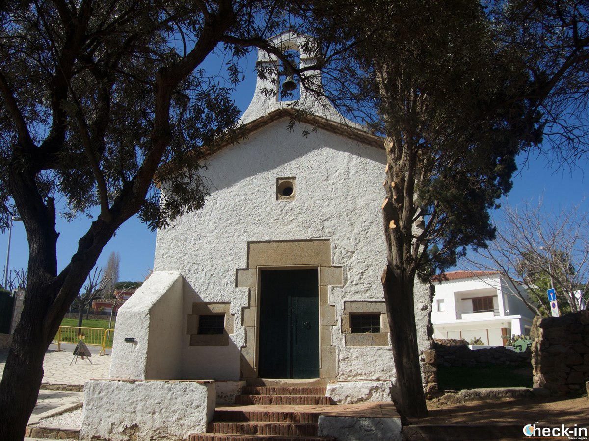 La Ermita de Sant Francesc en Blanes, España