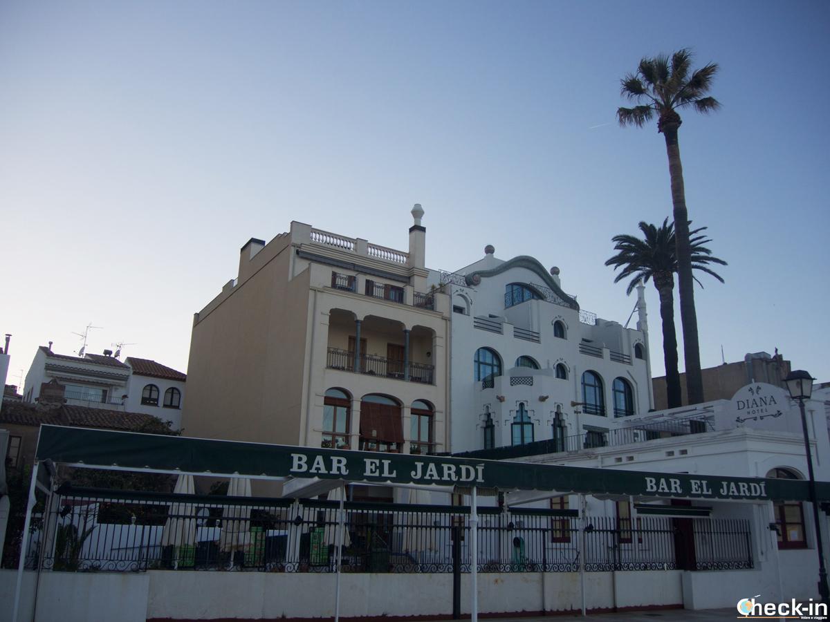 Hotel Diana sul lungomare di Tossa de Mar, Spagna