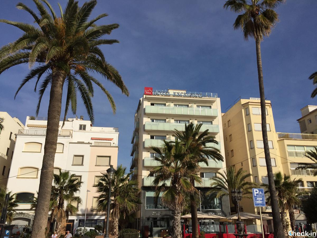 URH Hotel Excelsior sul lungomare di Lloret de Mar, Spagna