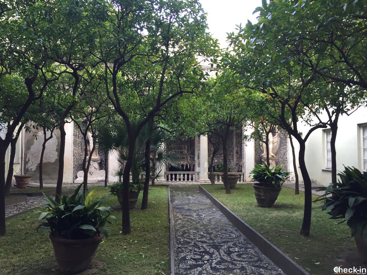 Il Giardino di Balbi 4, uno dei Palazzi dei Rolli di Genova