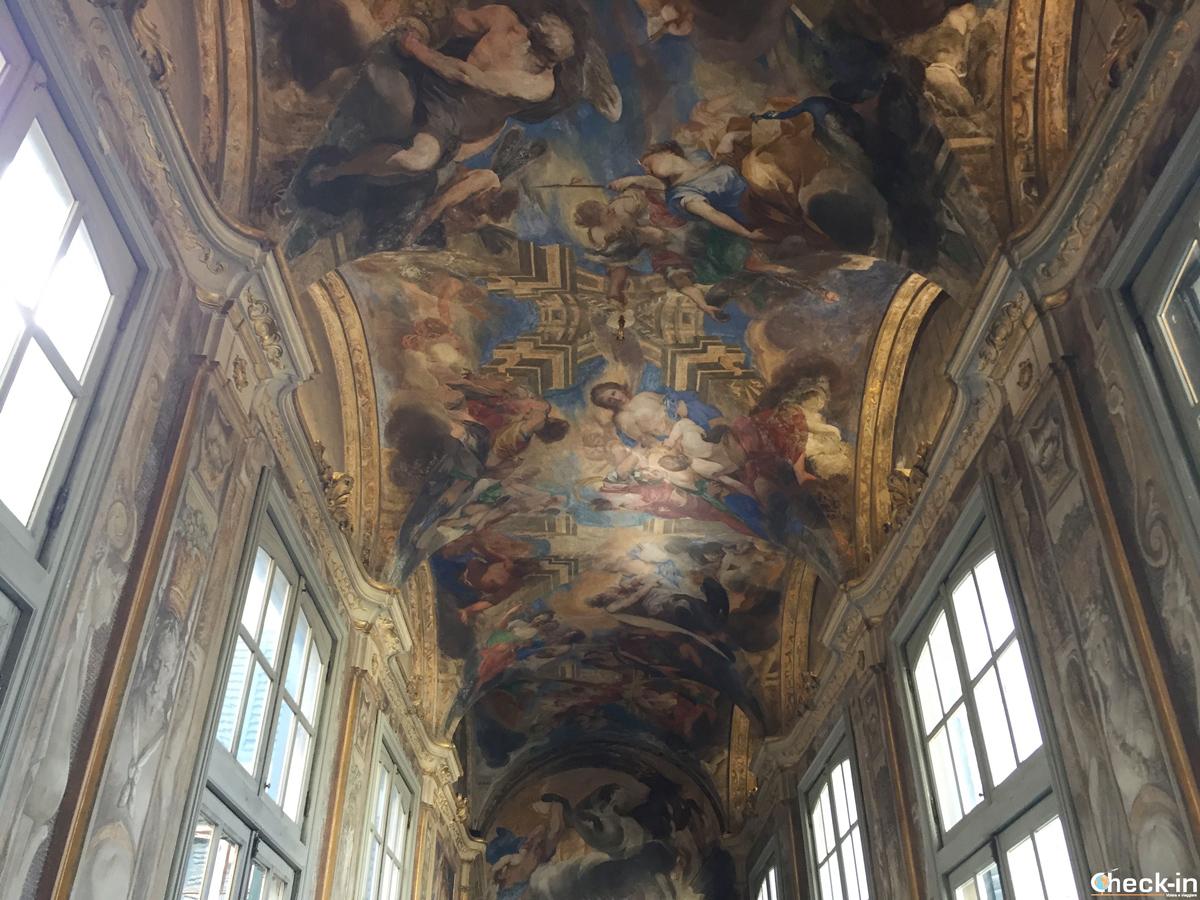 Gli affreschi di Palazzo Balbi a Genova