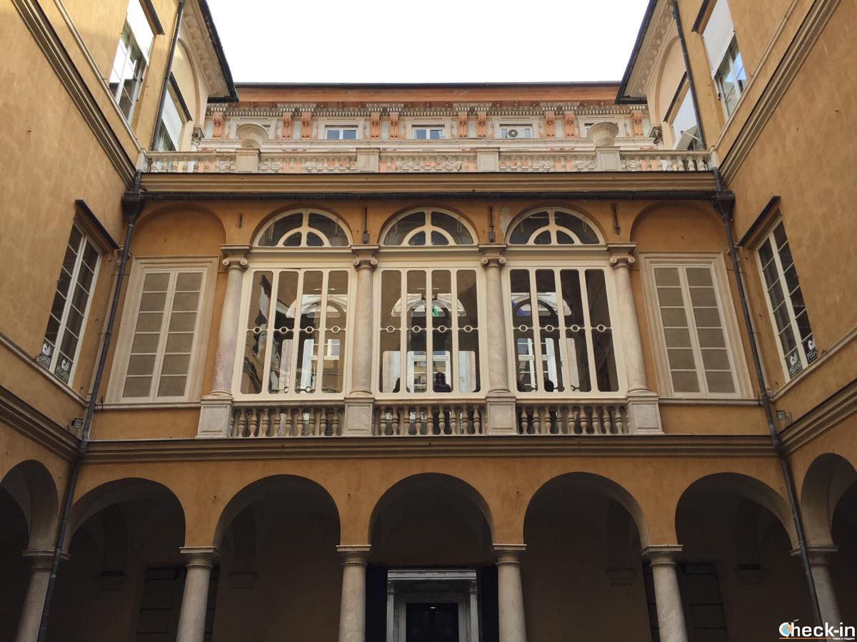 Atrio di Palazzo Franco Lercari a Genova, novità dei Rolli Days 2017