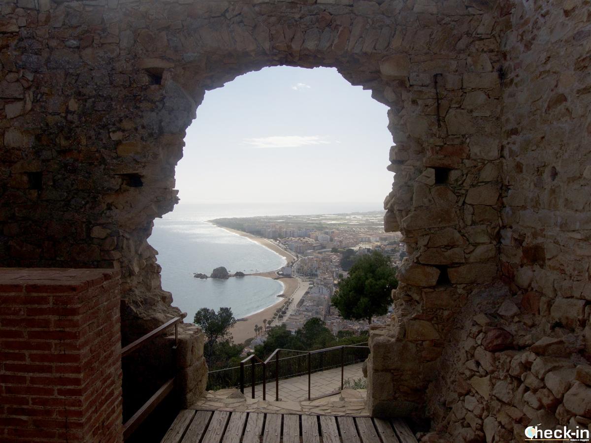 Vista panorámica de Blanes desde el Castillo de Sant Joan