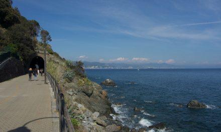 """Itinerari in Liguria: passeggiata lungomare """"Fabrizio de Andrè"""" tra Cogoleto e Arenzano"""