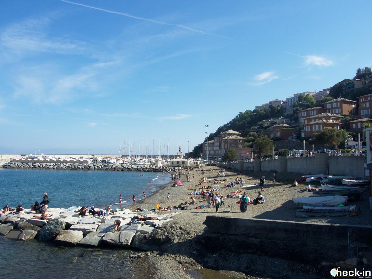 Il porticciolo turistico di Arenzano in Liguria