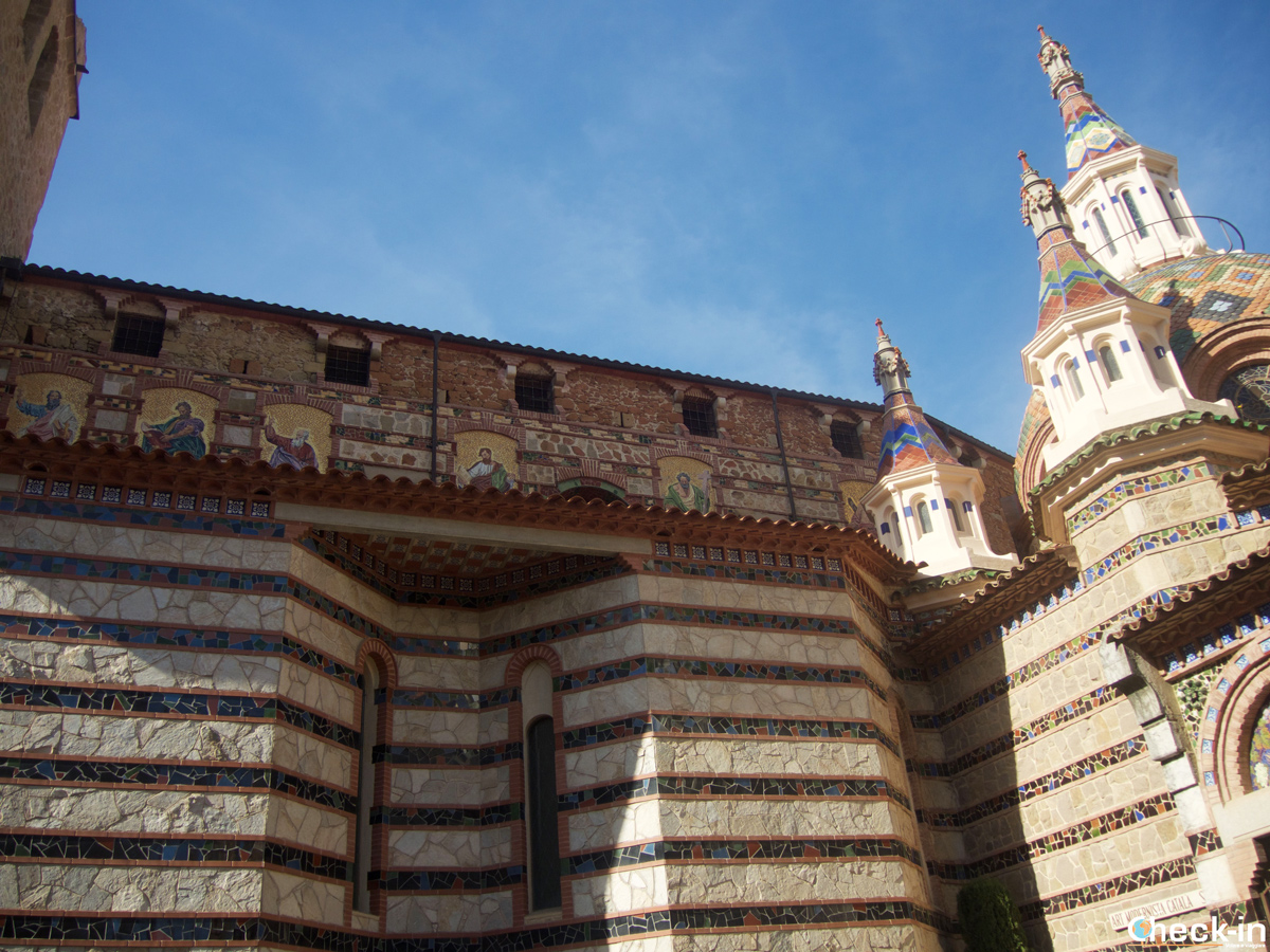 Iglesia Parroquia de Sant Romà en Lloret de Mar, España