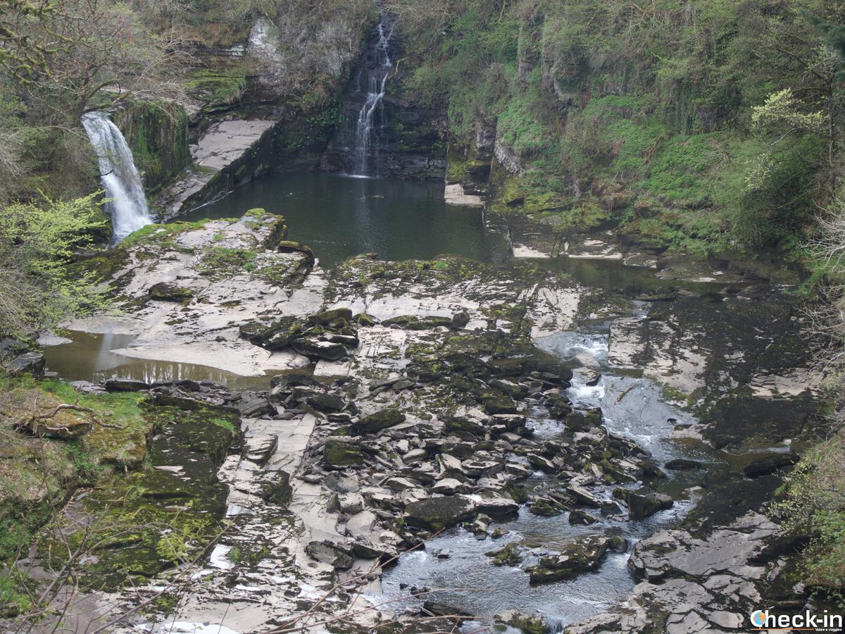 Bonnington Linn on Falls of Clyde, Scotland