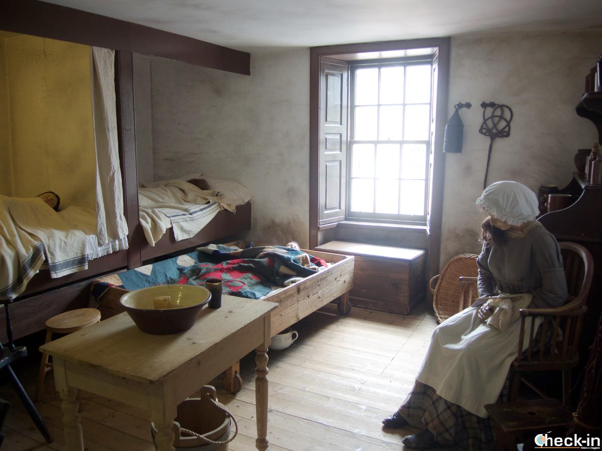 Casa dei lavorati di New Lanark del 1820