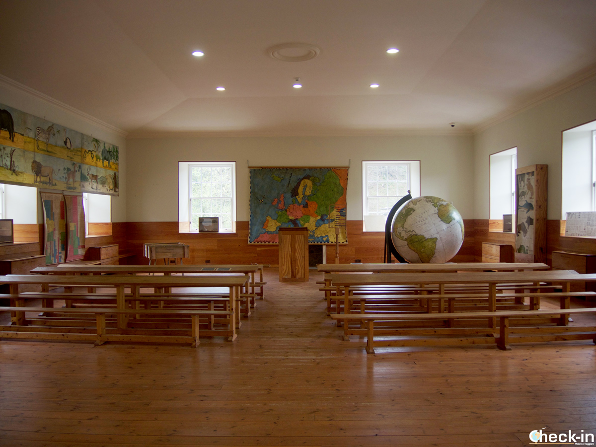 The New Lanark Historic Classroom, Scotland