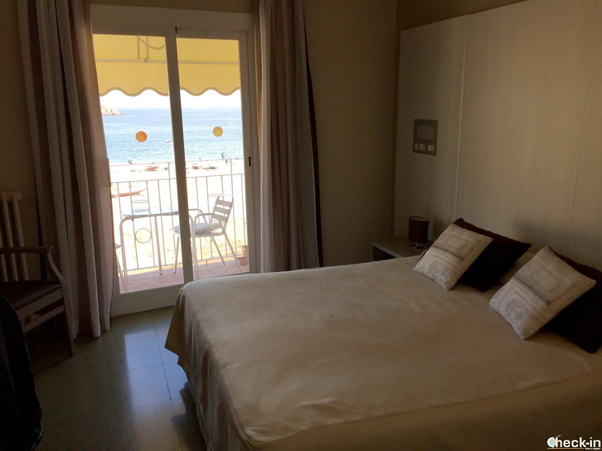 Hotel Capri, enfrente de la playa dei Tossa de Mar