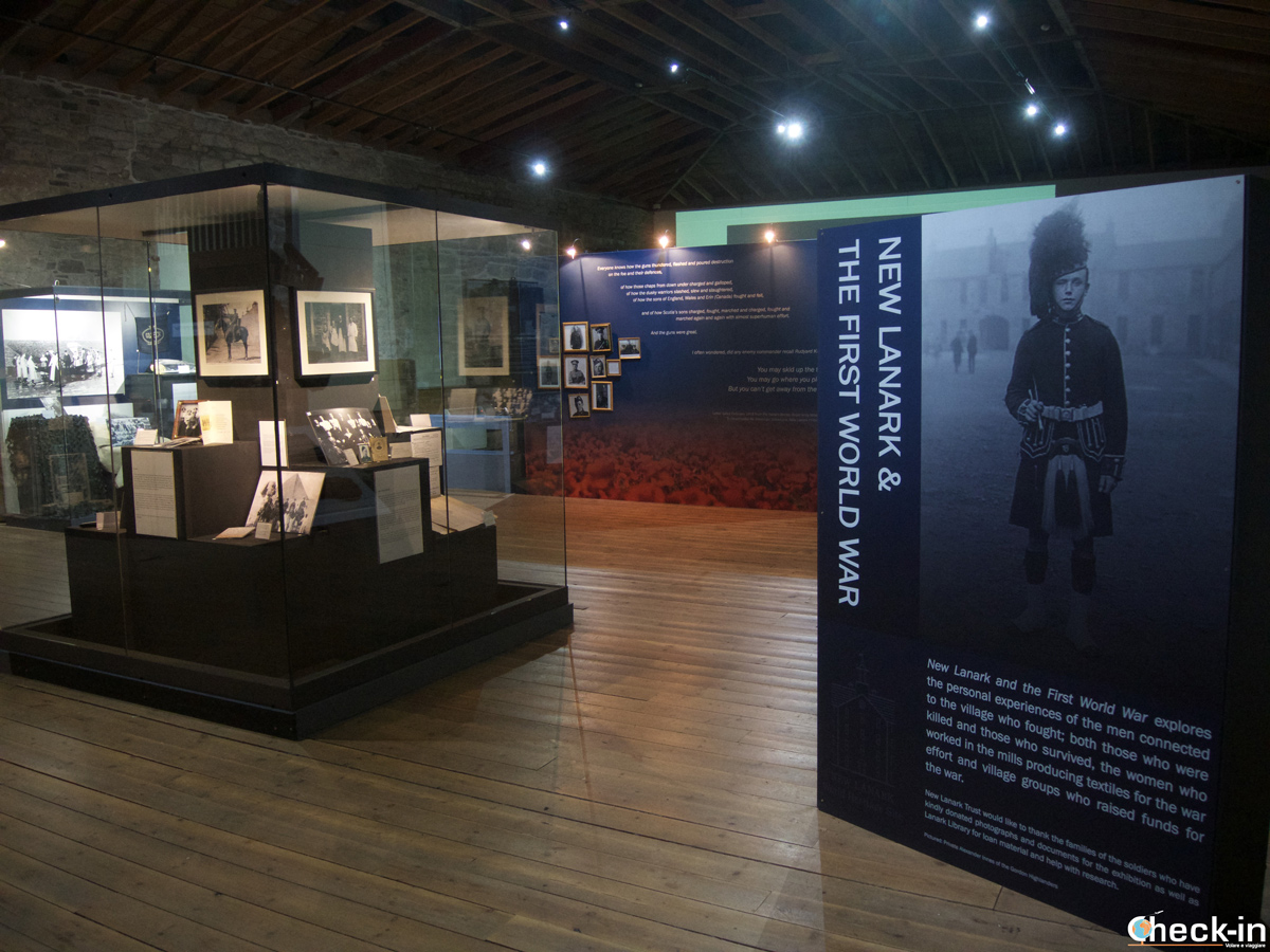 "La mostra ""Saving New Lanark Exhibition"""