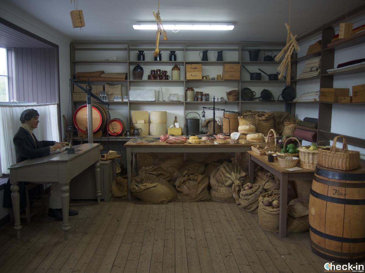 Il negozio riservato ai lavoratori di New Lanark