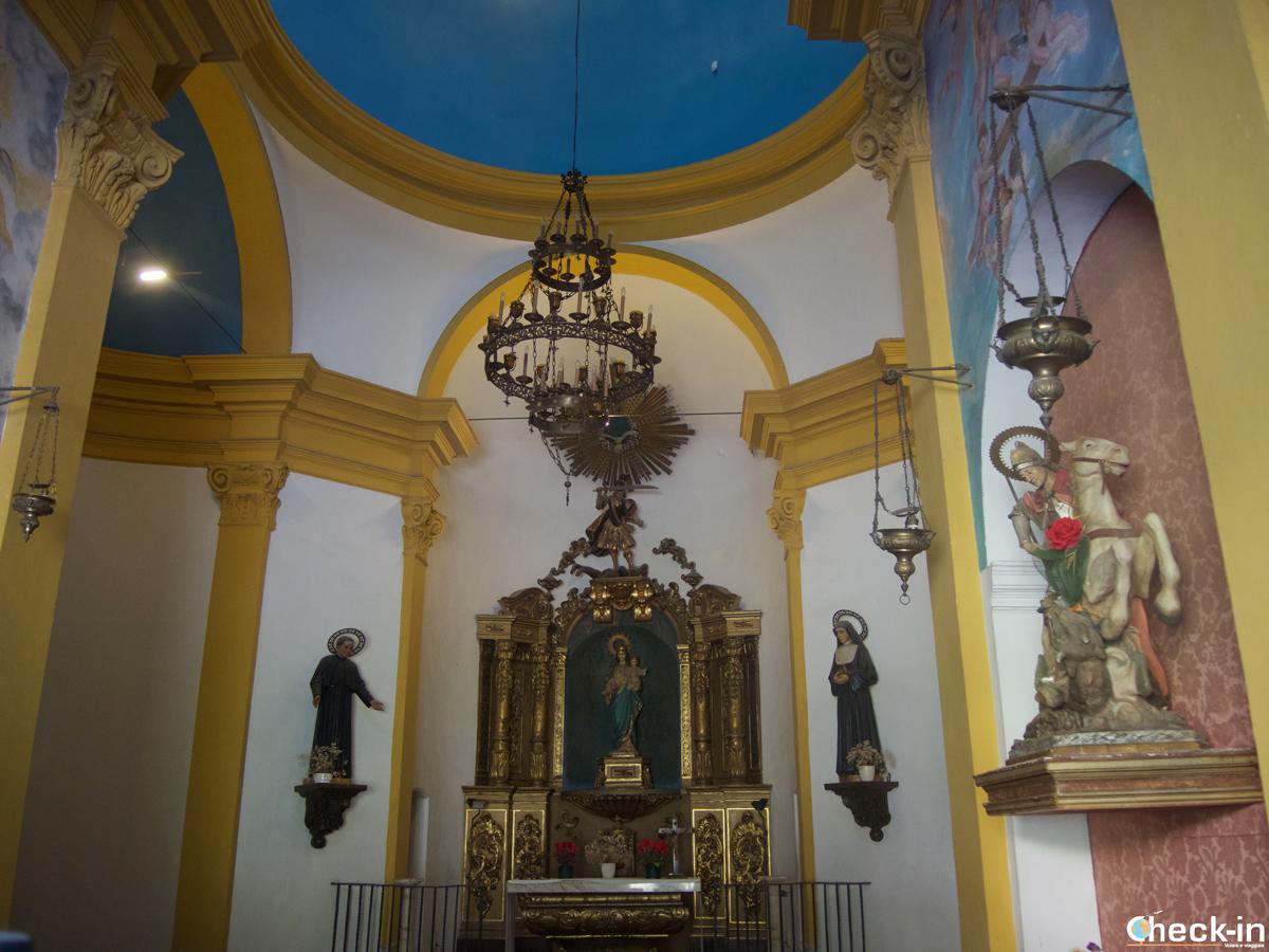 La Capilla de San Miguel en Tossa de Mar, España
