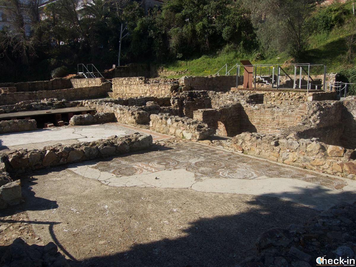 Els Ametllers, la vila romana de Tossa de Mar