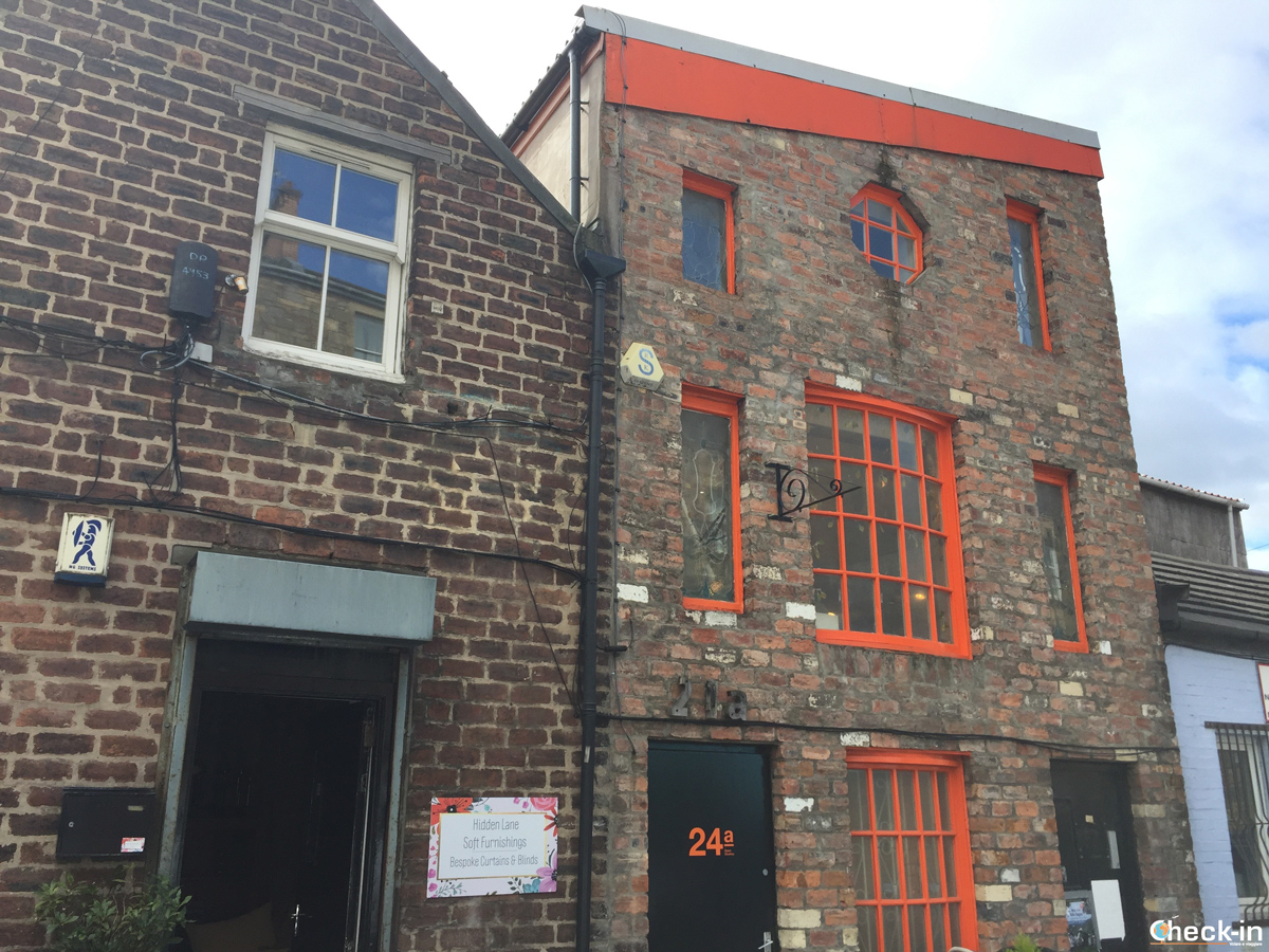 Gli studi di Hidden Lane a Glasgow, Scozia