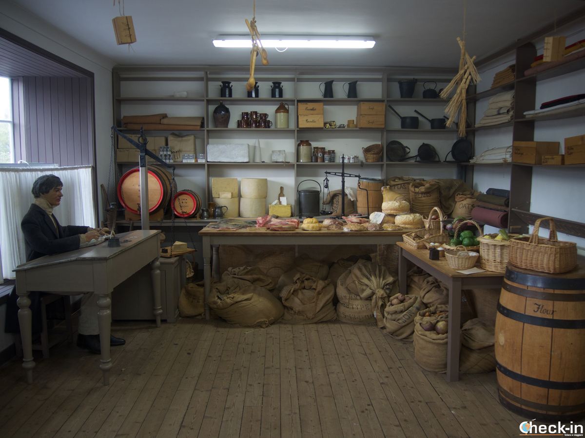 Visit of the New Lanark Village Store