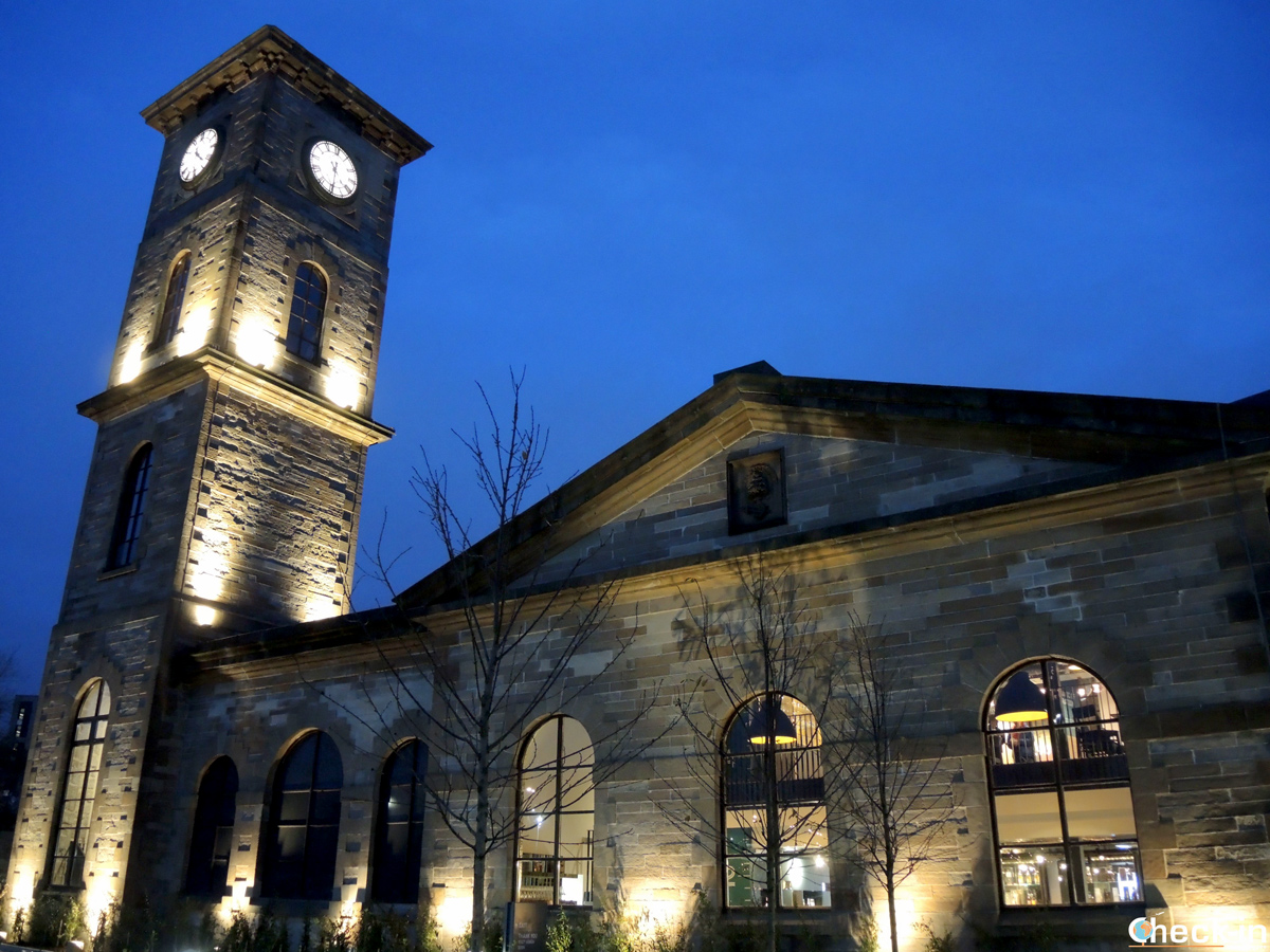 La Clydeside Distillery di Glasgow