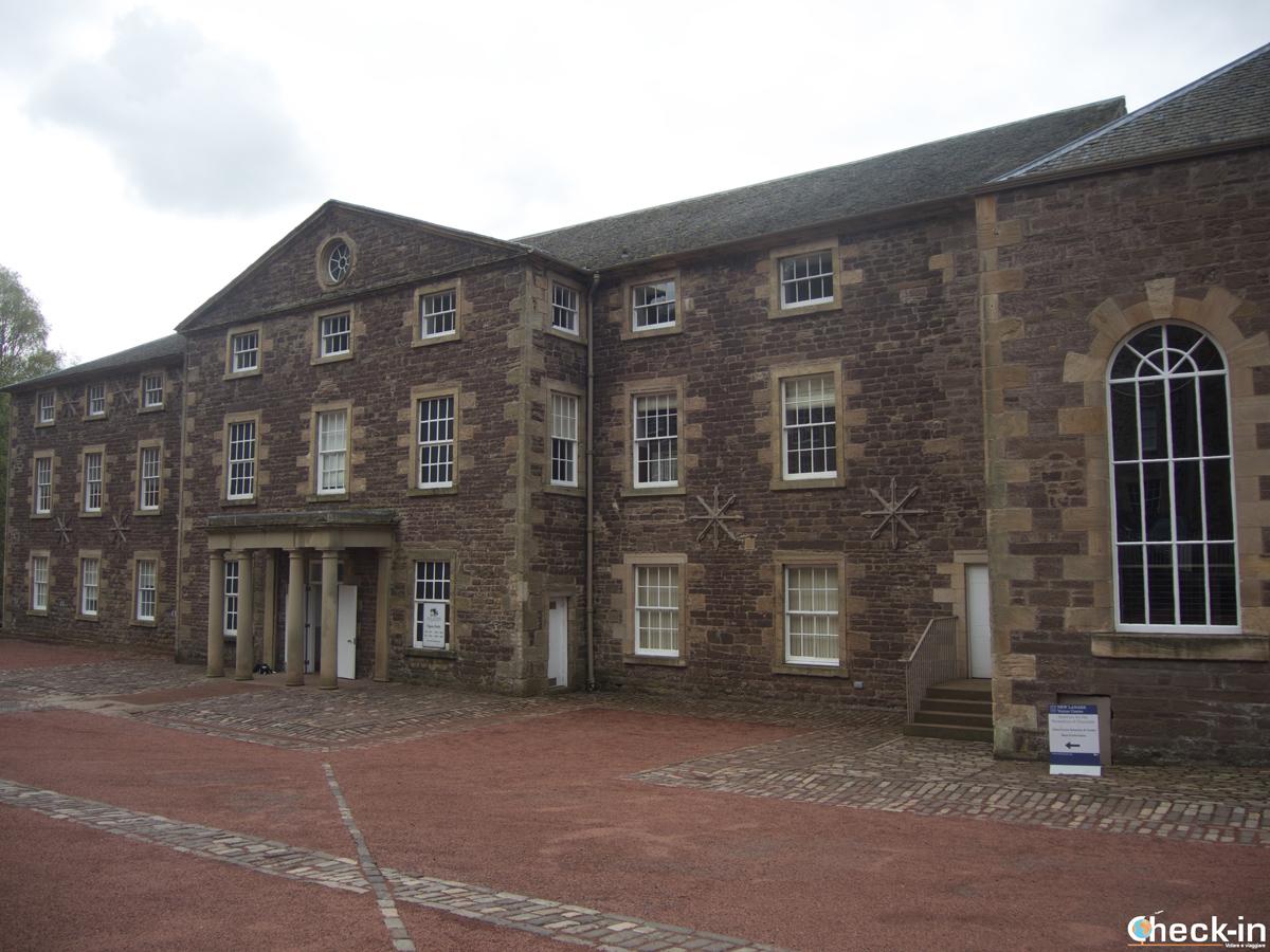 The New Lanark Visitor Centre