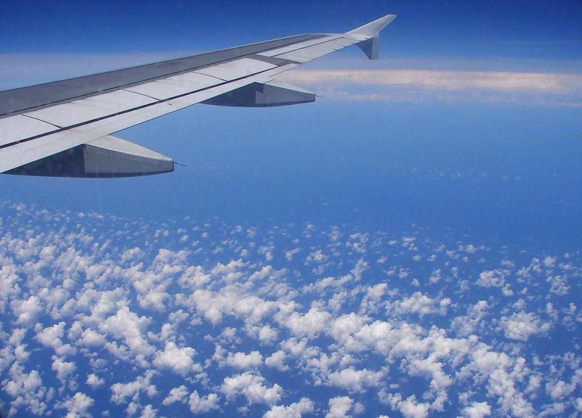 In volo verso Gran Canaria