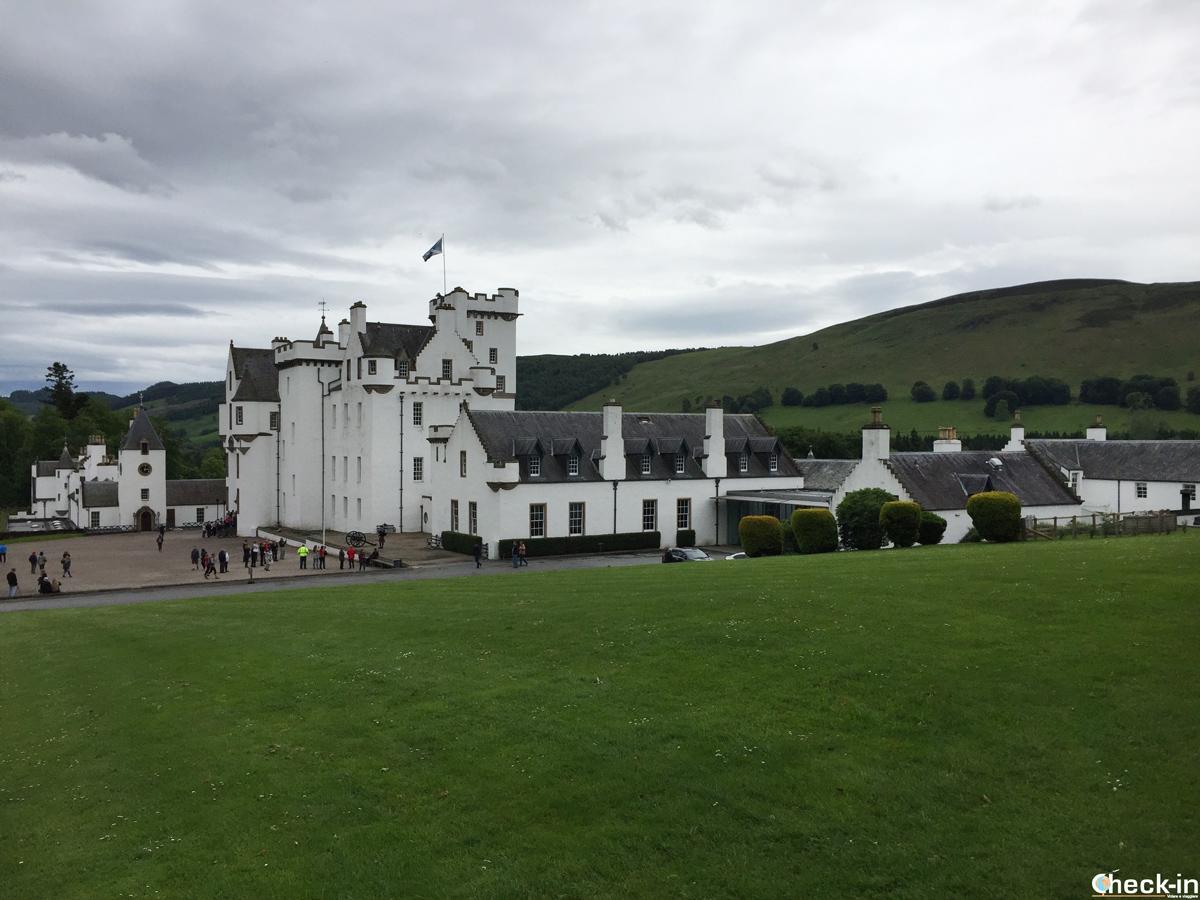 Scorcio di Blair Castle, Scozia
