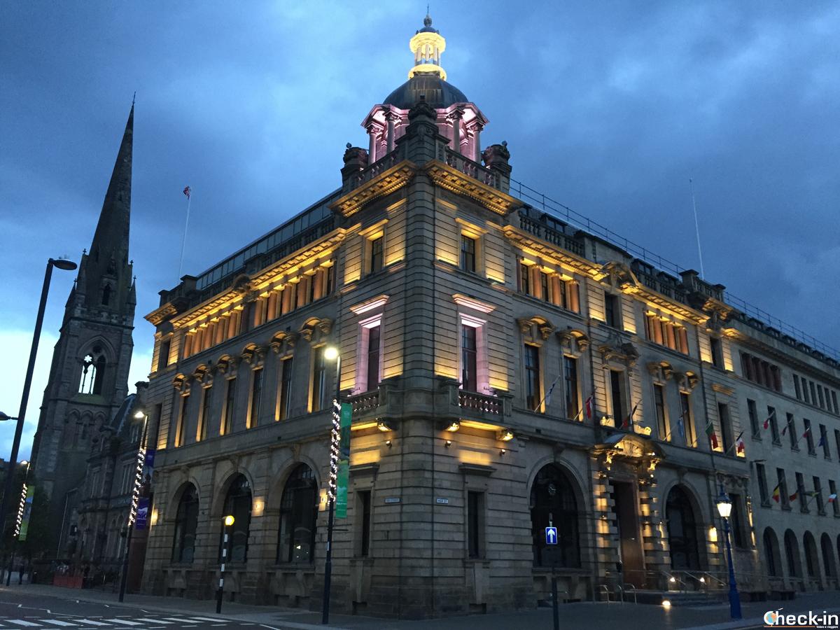 Il palazzo della Regione in High Street a Perth
