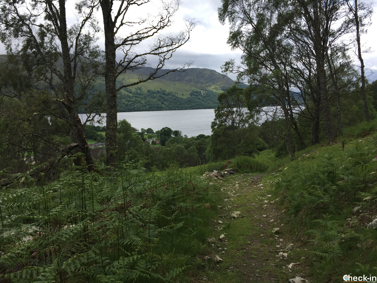 Passeggiata verso Craig Varr con vista sul Loch Rannoch