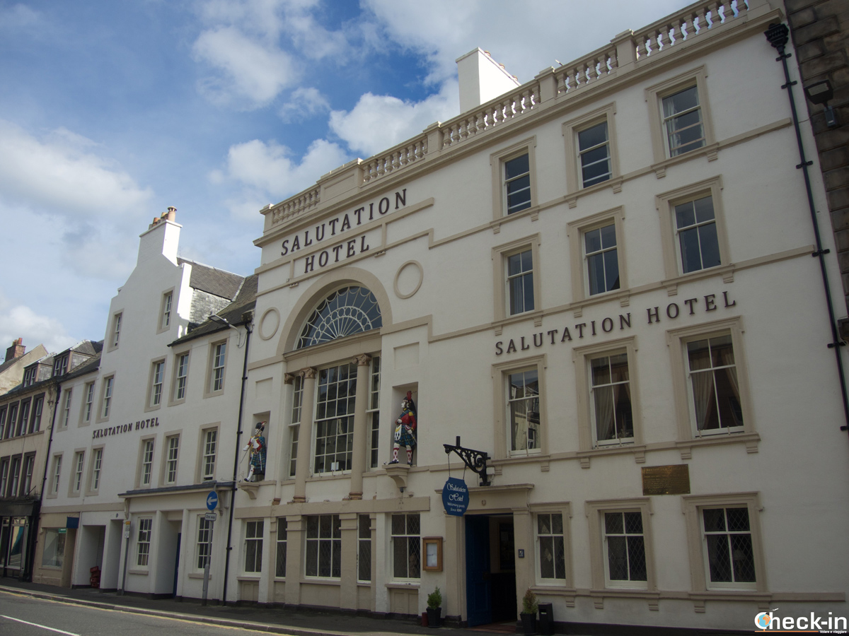 The Salutation Hotel in Perth, Scotland