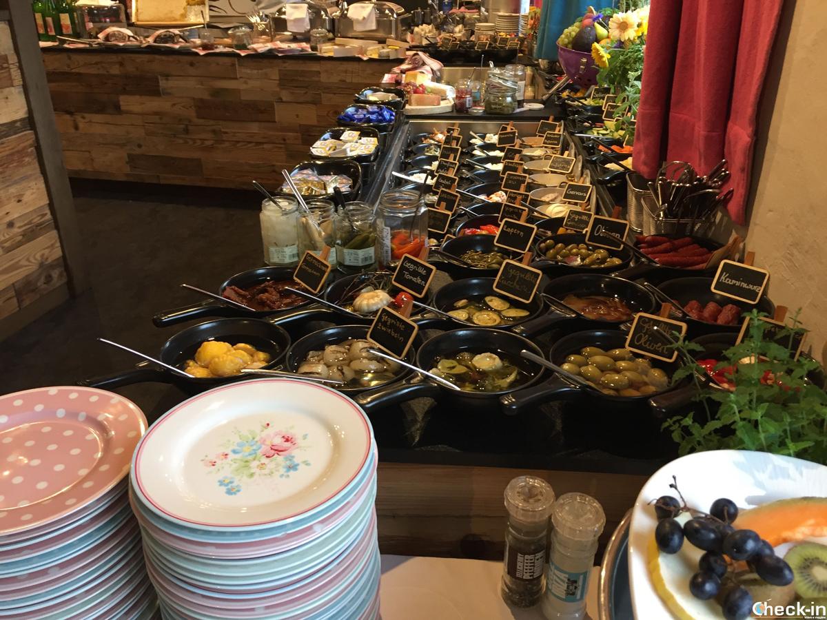 La colazione al Boutique Hotel Träumerei di Kufstein in Austria